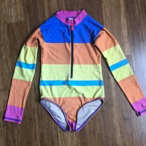 Crewcuts rash guard size 8